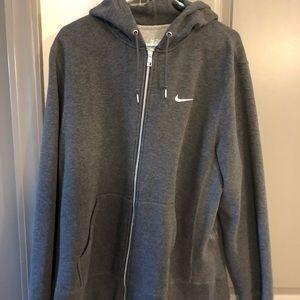 Men's full zip Nike sweatshirt